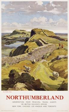Northumberland Poster by Leonard Russell Squirrell
