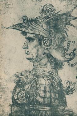 'A Condottiere', 1480, (1932) by Leonardo Da Vinci