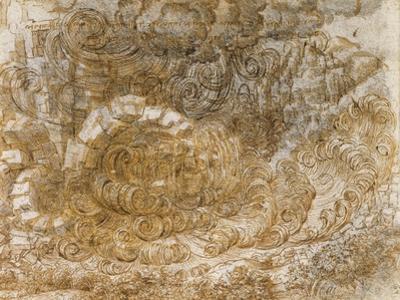 A Deluge by Leonardo Da Vinci by Leonardo Da Vinci