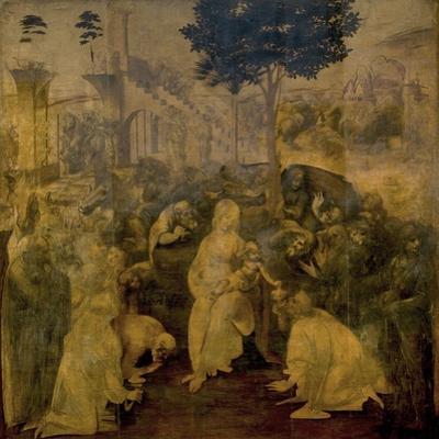 Adoration of the Magi by Leonardo Da Vinci by Leonardo Da Vinci