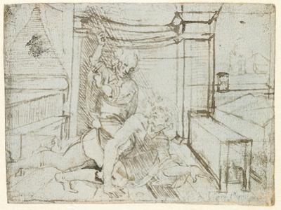 Aristotle and Phyllis by Leonardo da Vinci