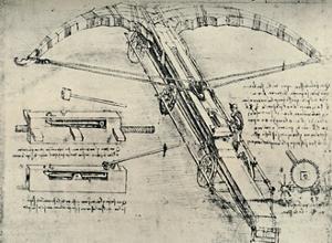 'Ballista', 1928 by Leonardo Da Vinci