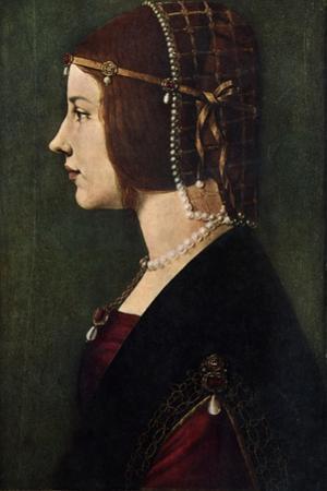 Beatrice D'Este (1475-149), C1490 by Leonardo da Vinci