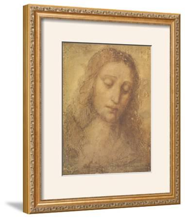 Christ's Head by Leonardo da Vinci