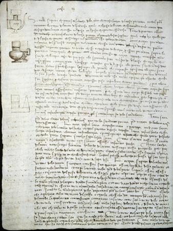 Codex Leicester: Water Pressure Theories by Leonardo da Vinci