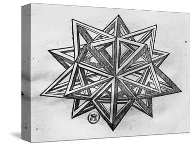 "Dodecahedron, from ""De Divina Proportione"" by Luca Pacioli, Published 1509, Venice by Leonardo da Vinci"