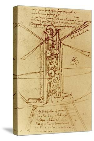 Drawing of a Flying Machine by Leonardo da Vinci