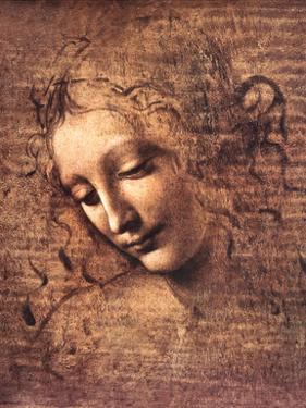 Female Head, La Scapigliata by Leonardo da Vinci