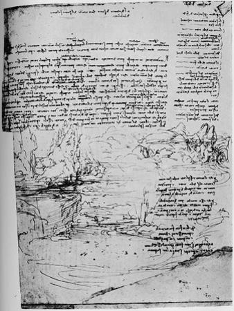 'First Page of 'The Armenian' Letters', 1928 by Leonardo Da Vinci