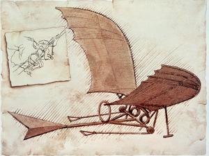 Flying Machine by Leonardo da Vinci