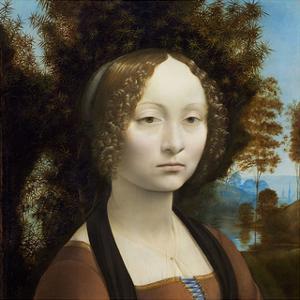 Ginevra de' Benci, c. 1474-1478 by Leonardo Da Vinci