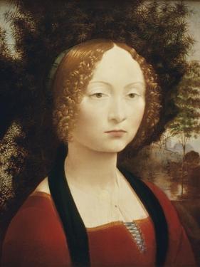Ginevra De'Benci by Leonardo da Vinci