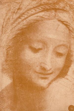 'Head of a Woman', c15th century, (1932) by Leonardo Da Vinci