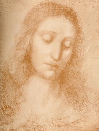 'Head of the Redeemer', c15th century, (1932) by Leonardo Da Vinci