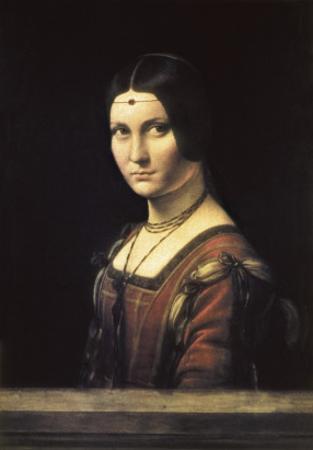 La Belle Ferronniere by Leonardo da Vinci
