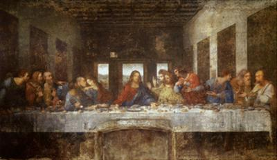 Last Supper by Leonardo da Vinci