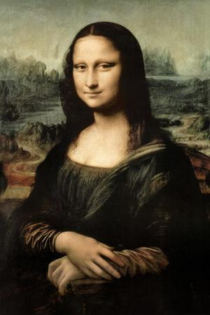 Leonardo Da Vinci Mona Lisa Print Plastic Sign by Leonardo da Vinci