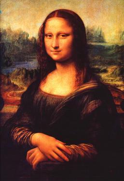 Leonardo da Vinci Mona Lisa 2 Art Print Poster