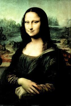 Leonardo da Vinci Mona Lisa Art Print Poster