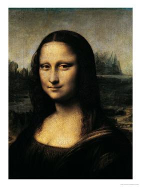 Mona Lisa, c.1507 (detail) by Leonardo da Vinci