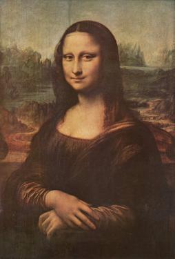 Mona Lisa, c.1507 by Leonardo da Vinci
