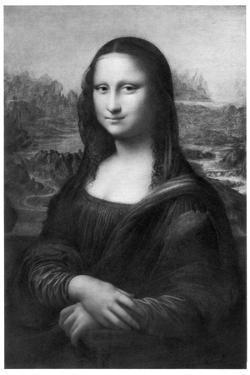 Mona Lisa, C1505 by Leonardo da Vinci