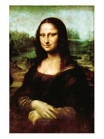 Mona Lisa, La Gioconda by Leonardo da Vinci