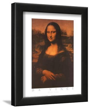 Mona Lisa Text by Leonardo da Vinci