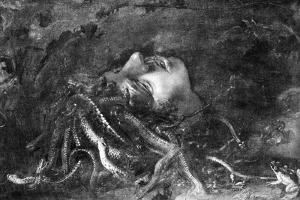 Mythology: Medusa by Leonardo da Vinci