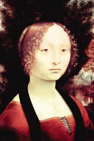 Portrait of a Dame by Leonardo da Vinci