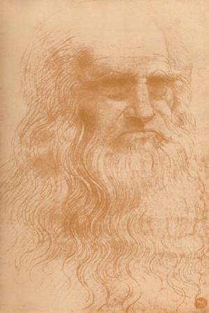 'Portrait of a Man in Red Chalk', c1512, (1932) by Leonardo Da Vinci