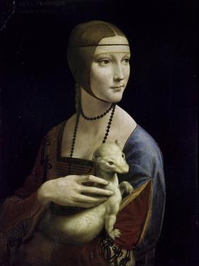 Portrait of Cecilia Gallerani (Lady with an Ermine) by Leonardo da Vinci