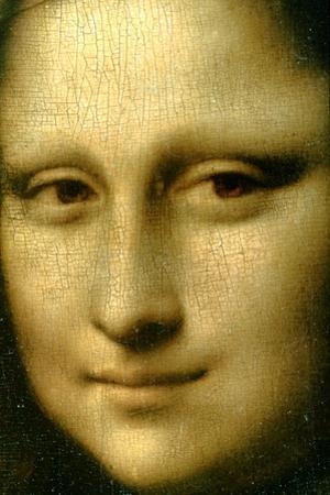 Portrait of Mona Lisa' (Detail), 1503-1506 by Leonardo da Vinci
