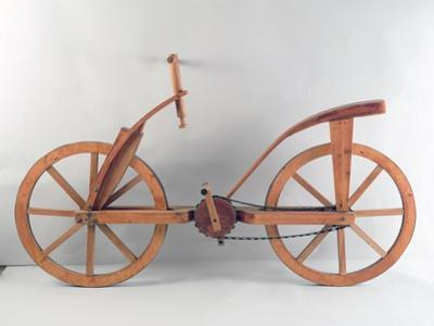 Reconstruction of Da Vinci's Design for a Bicycle by Leonardo da Vinci