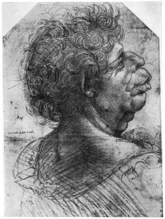 Scaramuccia, 1500-1505 by Leonardo da Vinci