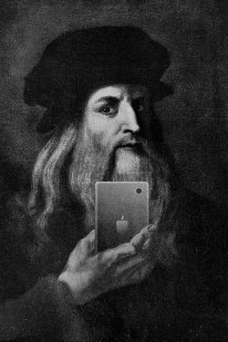 Leonardo Da Vinci Selfie Portrait