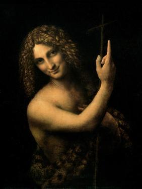 St. John the Baptist, 1513-16 by Leonardo da Vinci