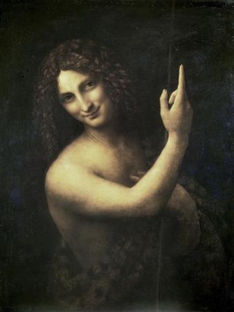 St. John the Baptist by Leonardo da Vinci