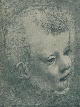 'Study of a Child's Head', 1482-1483, (1932) by Leonardo Da Vinci