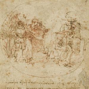 Sujet all?rique by Leonardo da Vinci