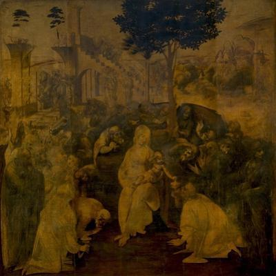 The Adoration of the Magi, C. 1480 by Leonardo da Vinci