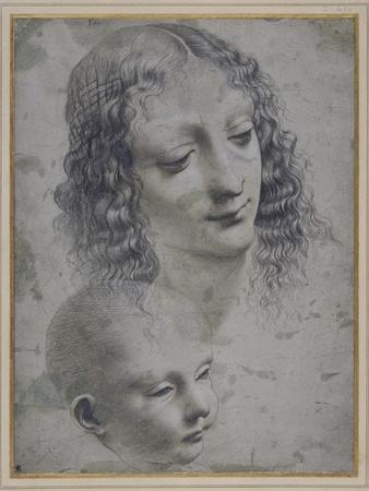 The Head of a Woman and the Head of a Baby