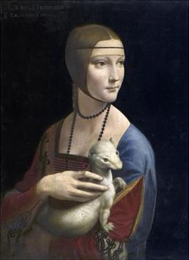 The Lady with an Ermine, ca. 1490 by Leonardo Da Vinci