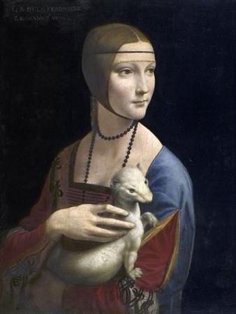 The Lady with an Ermine, ca. 1490 by Leonardo Da Vinci