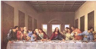 The Last Supper,1497 by Leonardo da Vinci