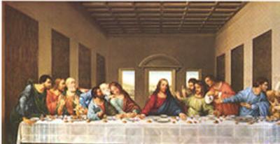 The Last Supper,1497 by Leonardo da Vinci