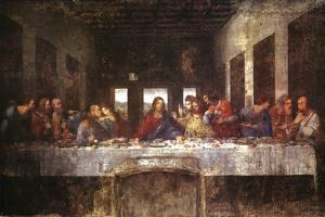The Last Supper, c. 1498 by Leonardo da Vinci