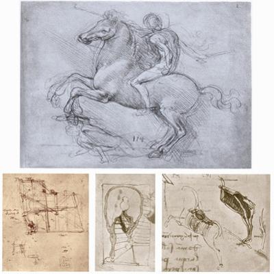 The Sforza Monument, C1488-1493 by Leonardo da Vinci