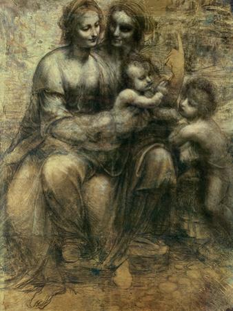 The Virgin and Child with Ss. Anne and John the Baptist, circa 1499 by Leonardo da Vinci