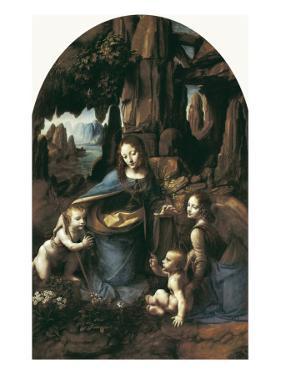 The Virgin of the Rocks by Leonardo da Vinci